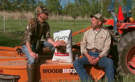 Dr. James Kroll talks about mixing annual and perennial plants into your food plots.