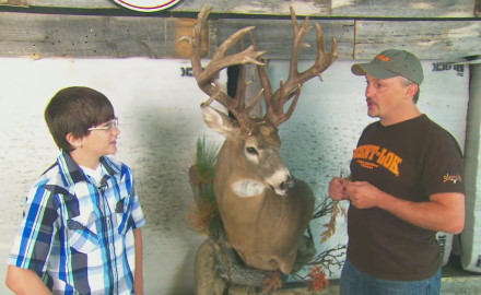 12 Year-Old Nabs an Impressive Buck