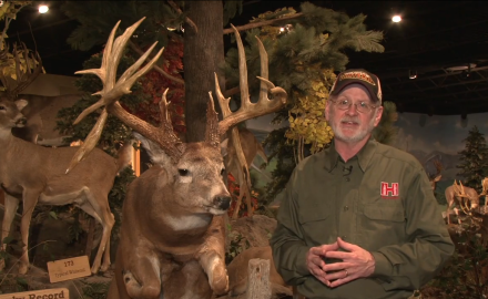 Gordon Whittington highlights a massive 21-Point buck that was shot under tough conditions in