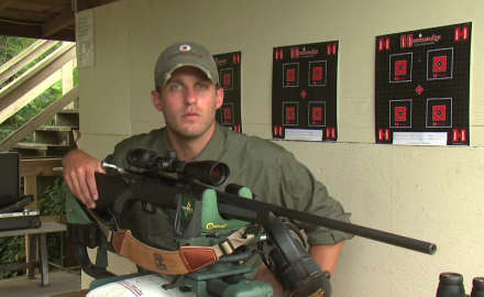 Pat Hogan shows you how to sight-in your rifle in just two shots.