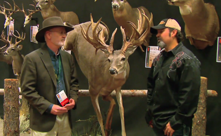 Gordon Whittington catches up with a bowhunter that took down a big 28 point atypical buck in Texas.