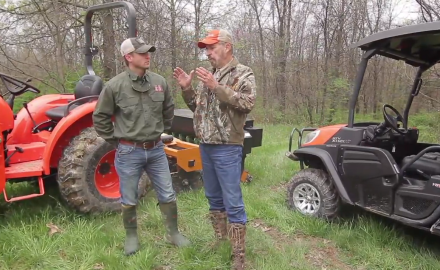 Pat Hogan and Dr. James Kroll talk about solutions to fixing deer herd problems.  These include