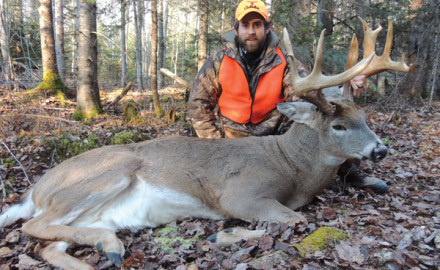 The 2012 deer season here in New Brunswick had been over for only a week, but I already was