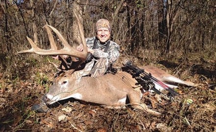 Finding and tagging a monster buck on public land truly requires the hunter to be extremely lucky