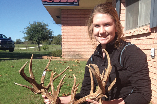 Makayla Hay Buck: 205-Inch Texas Non-Typical