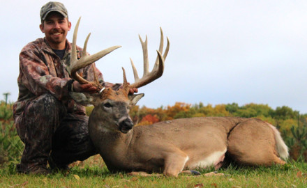 Photo Courtesy of the Wisconsin Buck & Bear Club.  The 2014 hunting season was a busy one for