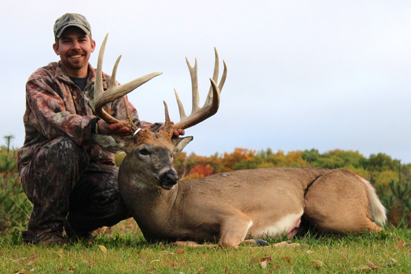 Adam Hupf Buck: 191-Inch Wisconsin Typical Archery State Record