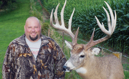 Jeff Dolash of Victor, Iowa, looks forward to every December gun season and getting together with a