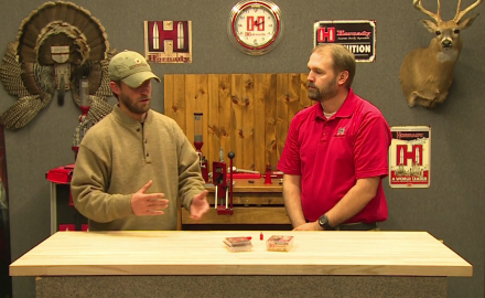 Pat Hogan visits te Hornady headquarters to explore the benefits of using sabots for your