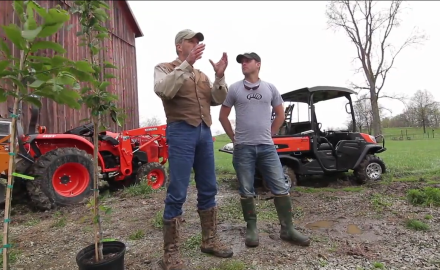James Kroll and Pat Hogan talk fruit trees and soft mass in this clip of