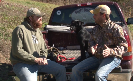 Jeremy Moore discusses realistic tracking training for your game recovery dog.
