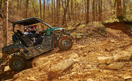 If extreme terrain capability is more valuable than cargo and work capacity, then look at the Yamaha Wolverine or Kawasaki Teryx machines.