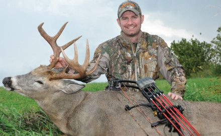 The author tagged this Minnesota buck last September 19. Some bowhunters write off the early