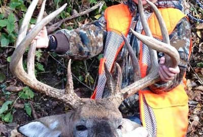 Charlie Miller harvested this amazing buck and then got to show him off in royal fashion.  No one