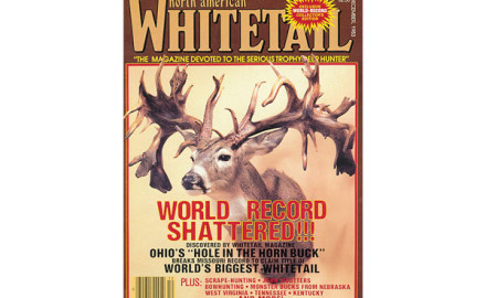 The Hole in the Horn buck is the most famous whitetail in the world, and for good reason.