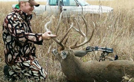 Ryan Nikkel had built a 4-year relationship with this buck.