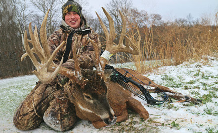 My 2014 Iowa deer season got off to a later start than normal. In fact, the first week in November