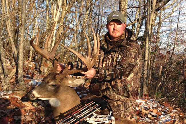 Chad Scyphers: 188-Inch West Virginia Record