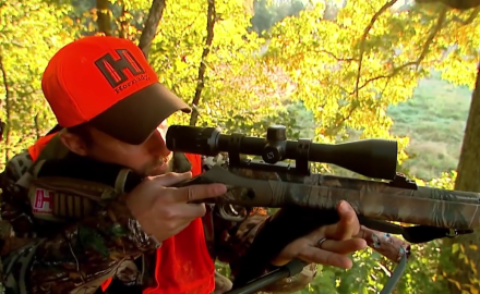 October muzzleloader hunting in Kentucky, North American Whitetail's Pat Hogan is down to the last