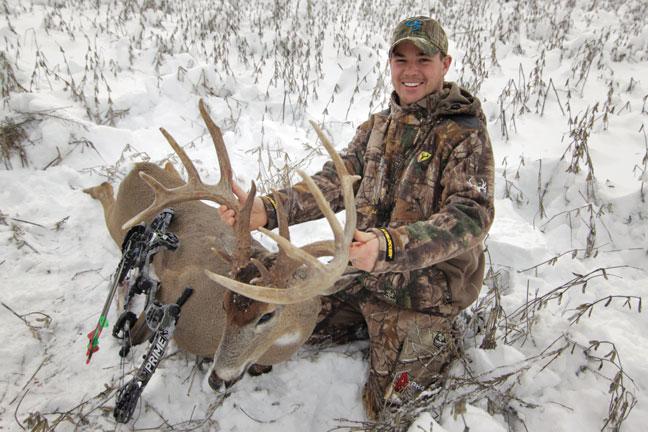 Steve Niemerg Buck: 197-Inch Illinois Giant