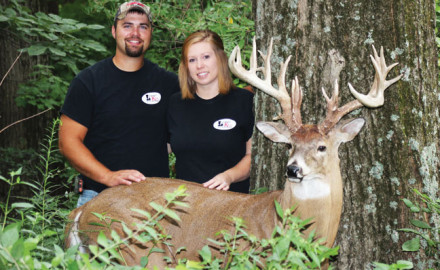 Although Jenna Gregg grew up around hunting with her family and friends near Williamsport, Indiana,