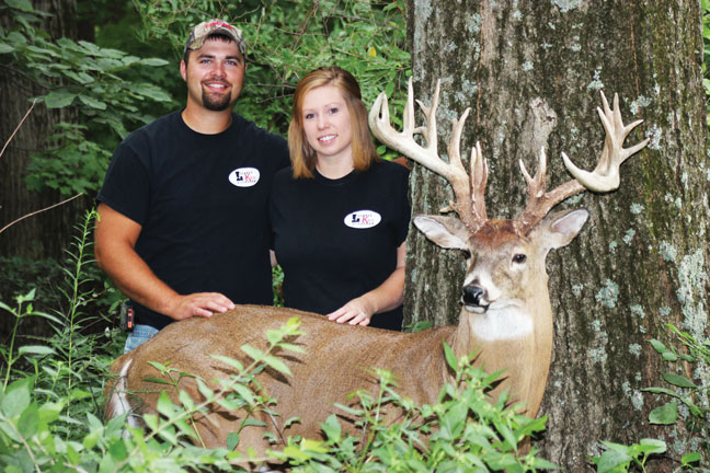 Jenna Gregg Buck: 212-Inch Indiana Non-Typical