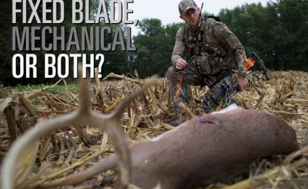 Should you shoot fixed blade broadheads, mechanical or a hybrid? It was now or never as the pin
