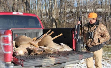 The discovery of five dead deer on a Kansas public hunting area has reignited a simmering debate.