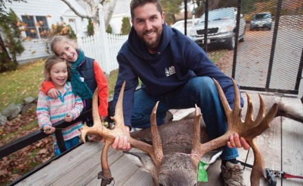 You might think the state of Maine is loaded with giant whitetails. In reality, it
