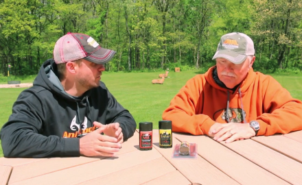 Stan Potts and Pat Hogan discuss how to use deer scents and lures effectively.