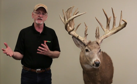 Gordon Whittington highlights a trophy buck with very little information known about this massive