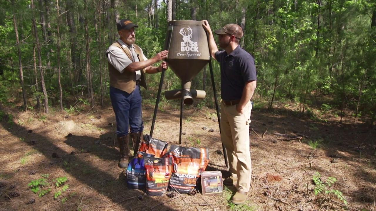 Deer Factory: Year-Round Nutrition in the South