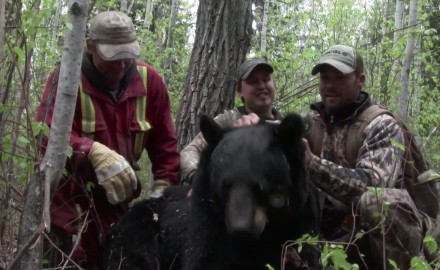 G.O. Heath heads for Saskatchewan with his bow as he hunts the wilderness in search of the