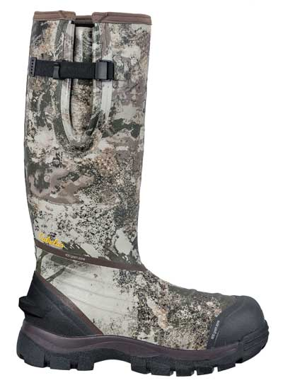 Quality rubber boots, like Cabela's Men's Zoned Comfort Trac 800-Gram Rubber Boots, are critical to eliminating your scent trail. Douse them liberally with a scent-blocking spray to avoid detection going to and from your stand.