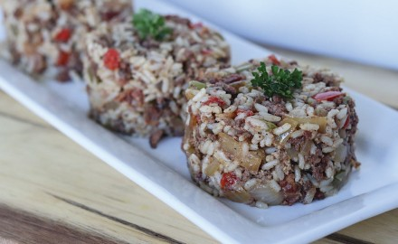 N'awlins Venison Dirty Rice Recipe (Tiphani St. Romain photo)