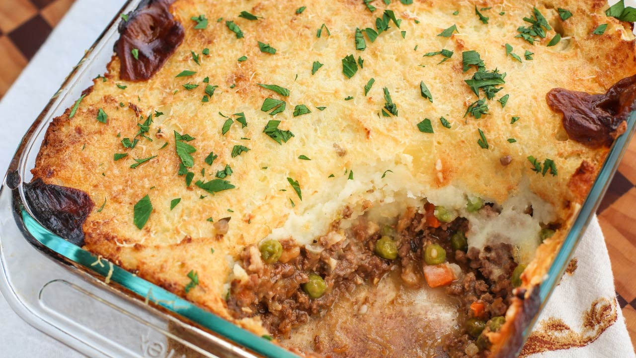 Venison Hunter's Pie Recipe