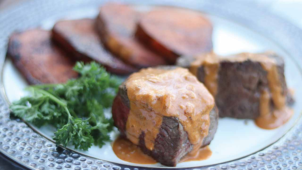 venison-steak-diane-recipe