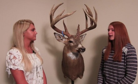Alli Armstrong talks with Nealie Neimeier about the trophy buck she took back in 2012 in Missouri.