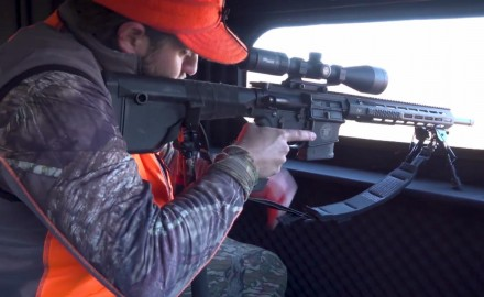 Haynes Shelton offers tips for establishing a solid shooting rest for rifle hunting.