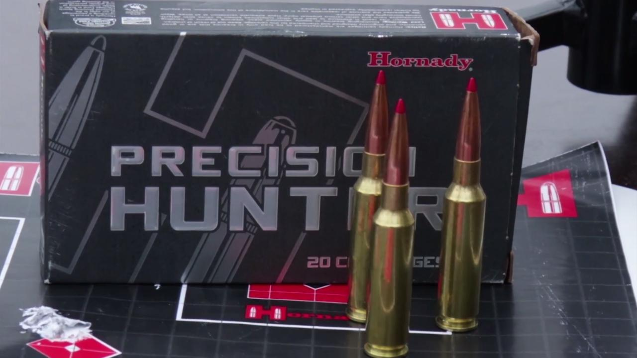 On Target: Hornady Precision Hunter Ammo
