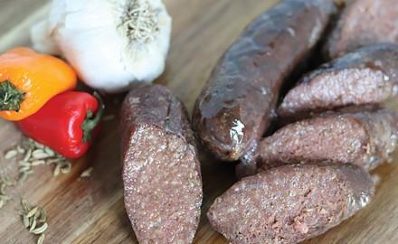 Venison Fennelise Italian Sausage Recipe