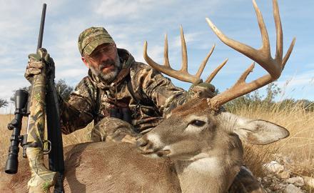 Humphrey with Texas buck