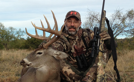 Bob Humphrey with Texas buck
