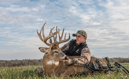 Hunter Gabe Adair strikes again in Iowa's corn country, taking his second 200-class buck in just two years.