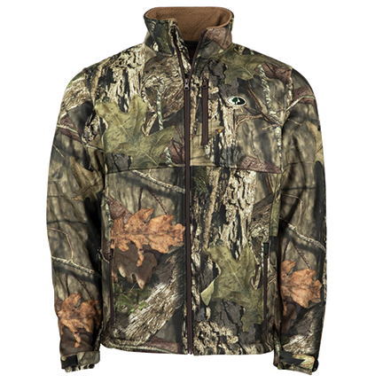 Mossy Oak Sherpa Lined Fleece Jacket