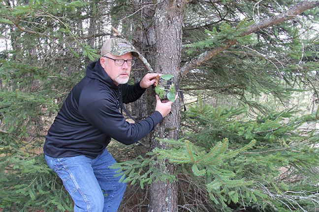 mounting a trail camera