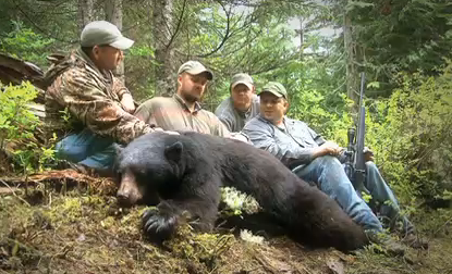 CZ USA's Jason Morton heads to British Columbia to hunt black bear with Petersen's Hunting TV.
