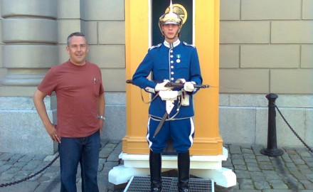 Does this Swedish child soldier make me look fat?