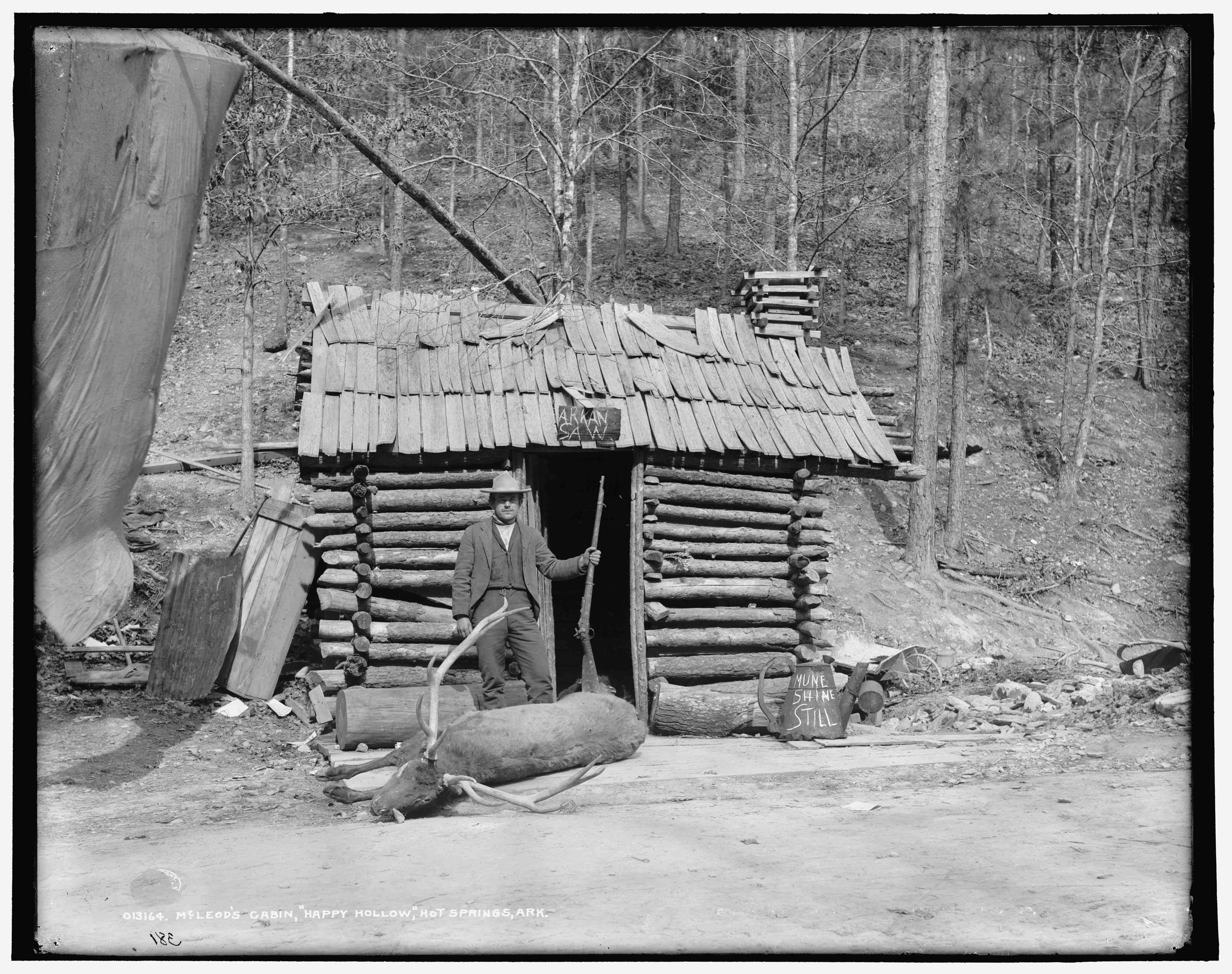 A Child Hunter Feeding his Family