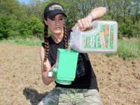 Bachman preparing to plant a small food plot